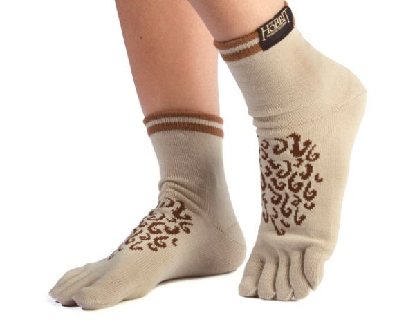 hobbit feet toe socks