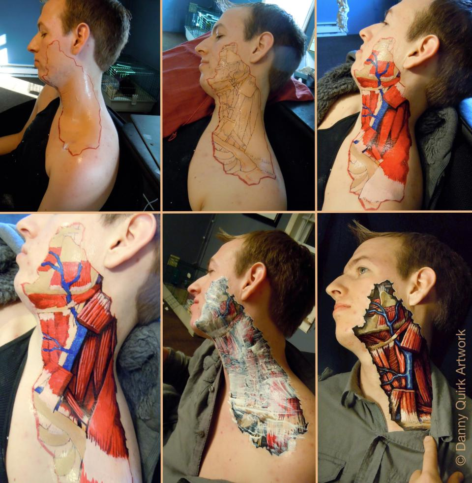 Danny Quirk Body Art4