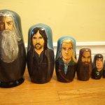Rachel Anderson Nesting Dolls – LOTR