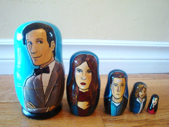 Rachel Anderson Nesting Dolls  Doctor Who (Eleventh)