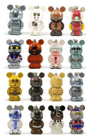 Vinylmation, Jr. Series Featuring Droids.