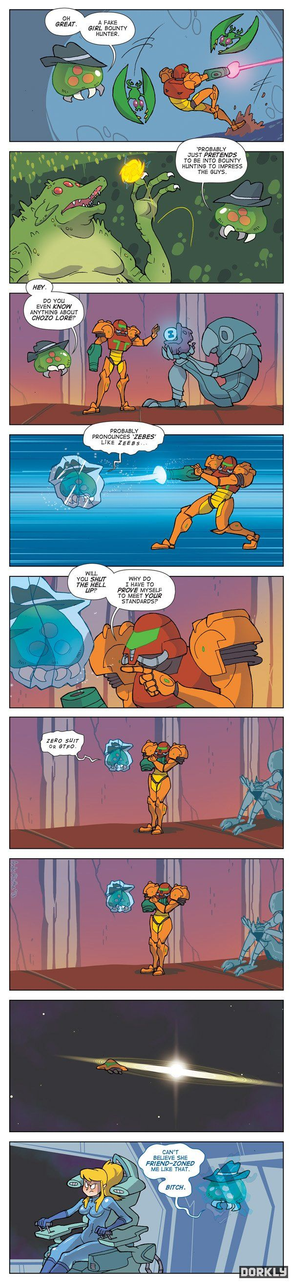 Samus Aran_Fake Girl