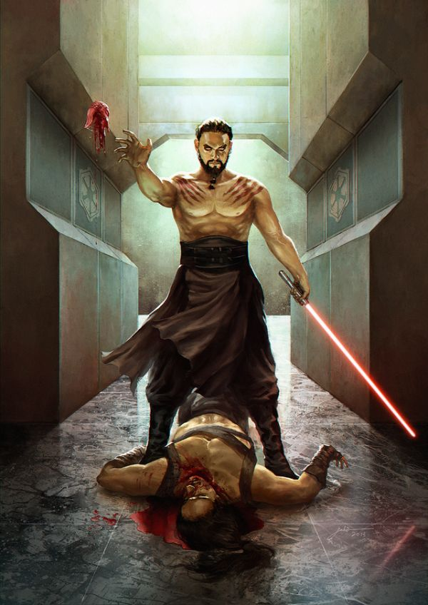 Drogo Meets Star Wars