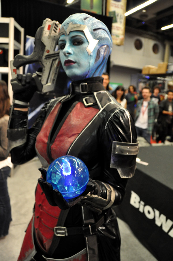 Liara T'Soni (Mass Effect) - Montreal Comic Con 2013 - Picture by Geeks are Sexy