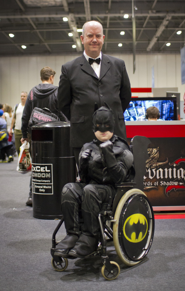 Batman and Alfred - MCM London Comic-Con 2013