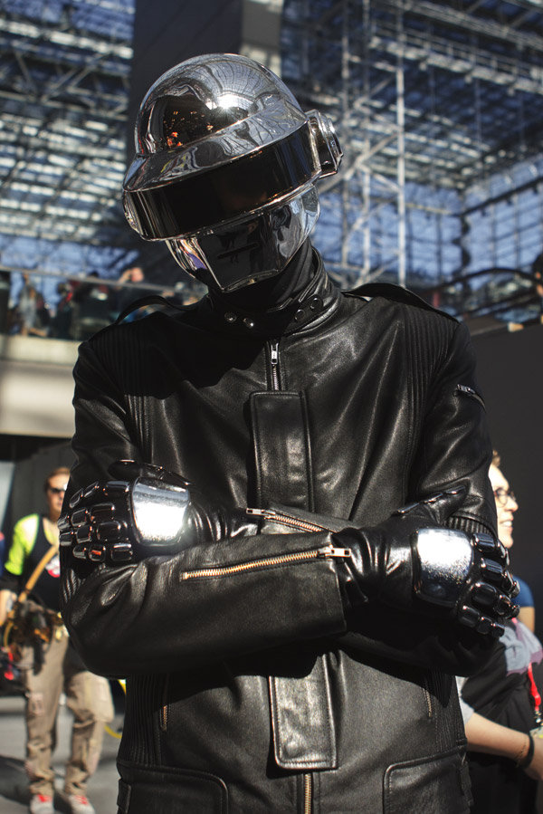Daft Punk – New York Comic Con (NYCC) 2013 - Geeks are Sexy