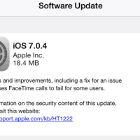 Download iOS 7.0.4 Available for iPhone / iPad With Bug Fixes