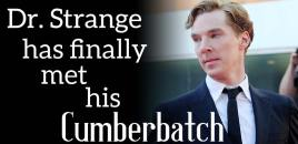 Benedict Cumberbatch to Play Dr. Strange in Upcoming Marvel Film