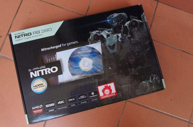 Sapphire R9 390 Box
