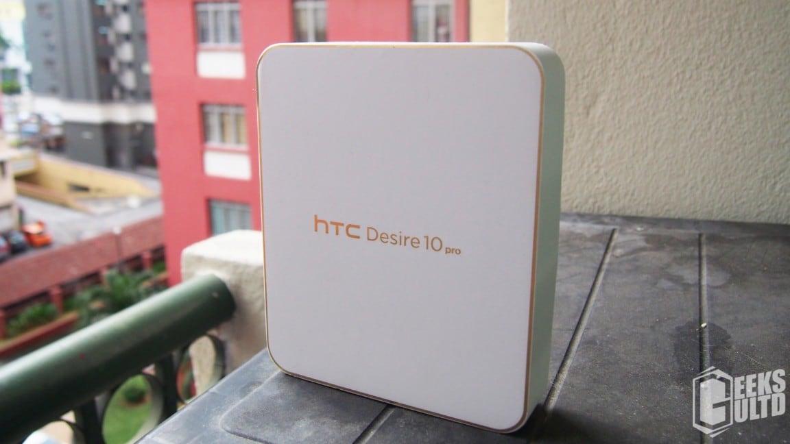 Htc desire 10 pro unboxing