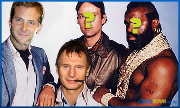 Liam Neeson & Bradley Cooper In Team for A-Team Remake