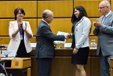 Brasileira supera 4 finalistas e vence Olimpíada Nuclear Mundial na Áustria