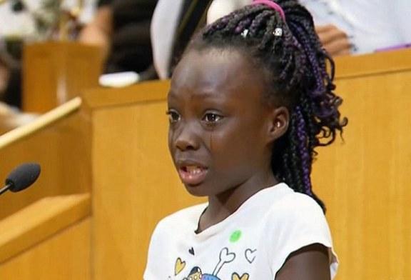 Discurso de menina de 9 anos sobre violência racial viraliza na internet