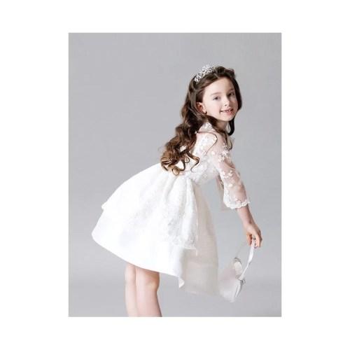 Medium Crop Of White Flower Girl Dresses