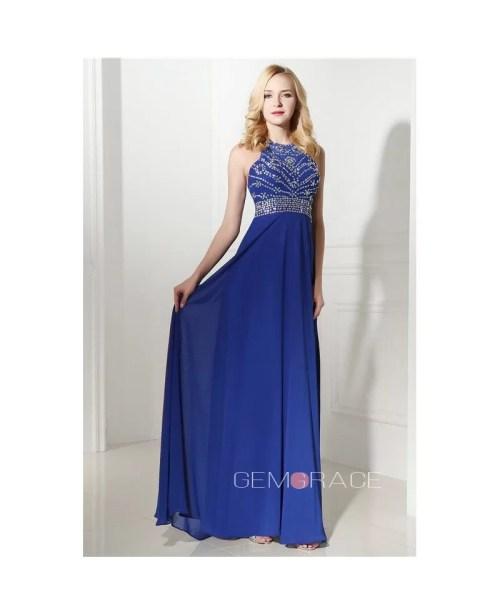 Appealing Royal Blue Halter Mini Prom Dress Beading Halter Dresses Long Halter Dresses Beading Royal Blue Halter Mini Prom Dress