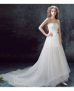 Small Of High Low Wedding Dress