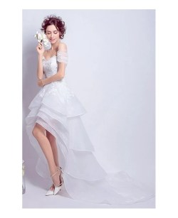Small Of Off The Shoulder Wedding Dress