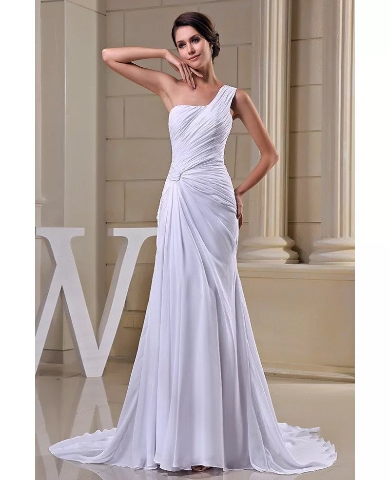 Fullsize Of Chiffon Wedding Dress