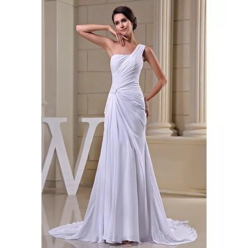 Medium Crop Of Chiffon Wedding Dress