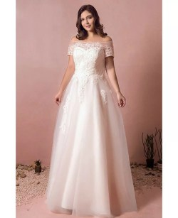 Small Of Off Shoulder Wedding Dress