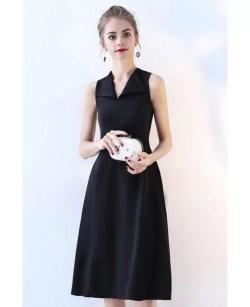 Especial Teens Black Party Dress Knee Length Black Party Dress Knee Length Black Dresses After Five Black Dress