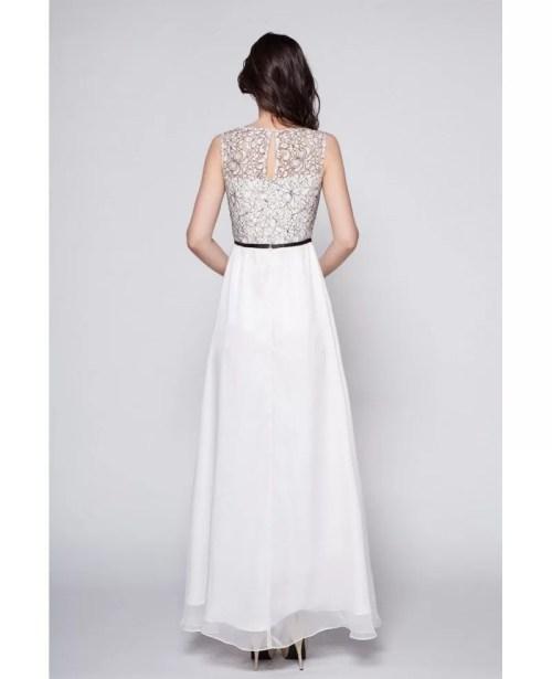 Medium Of Long White Dress
