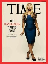 Time Magazine, Transgender Tipping Point, May 2014, Laverne Cox cover