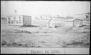 Topeka in 1856