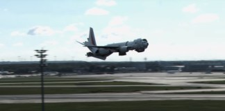 "Aterrizaje de este avión como un ""Transformer"" es sensación en Youtube"