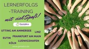 Lernen lernen, Lernerfolg, Utting, Linz, Frankfurt, Eutin, Köln, Ludwigshafen