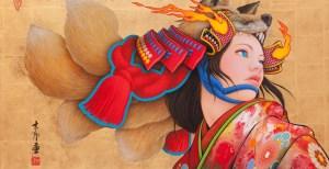 Tamura Yoshiyasu e a mistura do mangá com a arte tradicional
