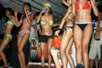 Bikini Babes invade the stage