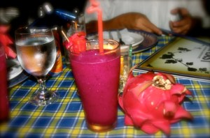 Dragonfruit Juice of Pablo's Steaks and Crabs