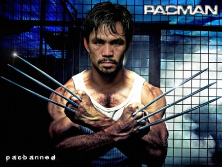 Pacquiao Funny Picture -Wolverine
