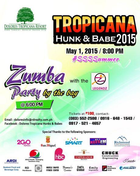 tropicana hunk babe poster big