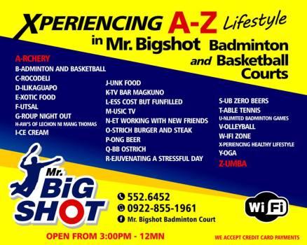 MR. BIGSHOT A TO Z