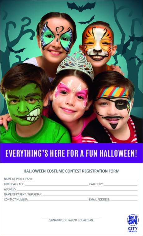 sm halloween registration form