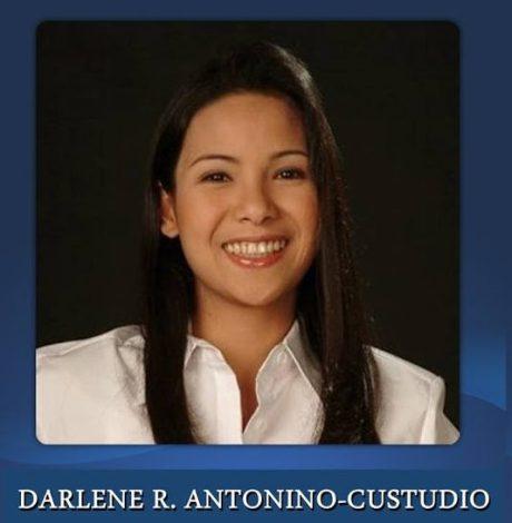 DARLENE R. ANTONINO-CUSTODIO WAS ELECTED MAYOR FROM JULY 1, 2010 - JUNE 30, 2013