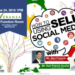 "Join this Seminar and learn ""How to Sell Using Social Media"""