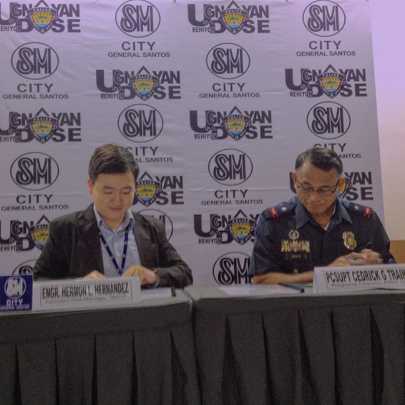 "PRO 12 launches ""Ugnayan sa Rehiyon Dose"" , partners with SM City Gen. Santos"