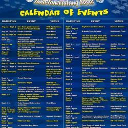Gensan's Tuna Festival 2016 Schedule of Activities
