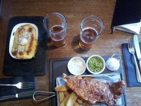 fish and chips pie whitstable