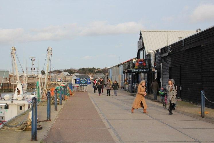 La passeggiata del porto