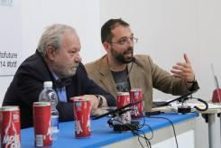 Il professor Rodolfo Baggio e Giovanni Arata
