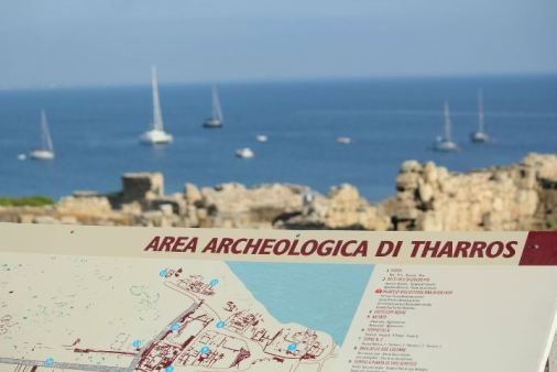 sito archeologico di tharros cabras sardegna giganti di monte prama