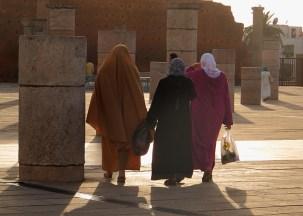 camminare in Marocco