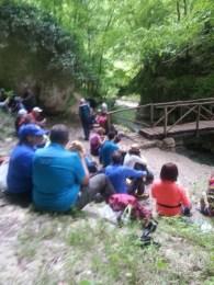 Pausa pranzo per gli escursionisti del CAI Roma