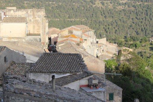 panorama tetti ragusa ibla val di noto