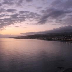 Etna tramonto Bova Marina