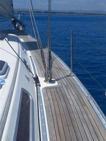 particolare barca